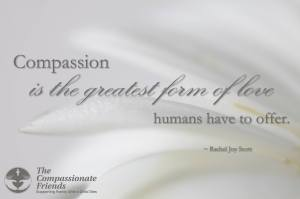 compassion greatest form of love