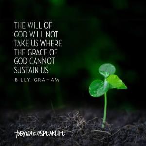 wil take grace sustain