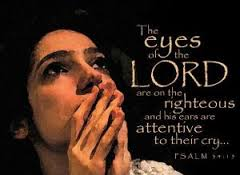 eyes of the lord attentive