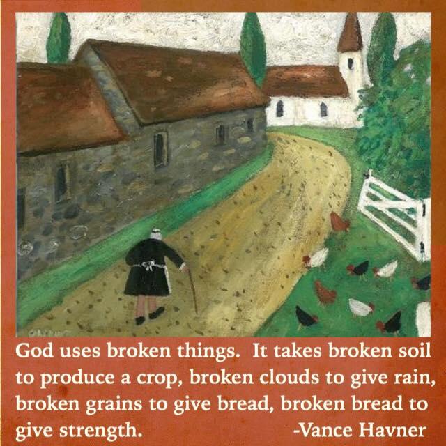 God Uses BrokenThings