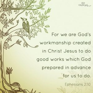 gods workmanship good works