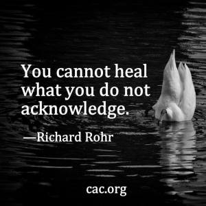 heal and acknowledge
