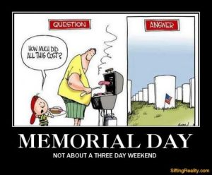 memorial day how much did all this cost