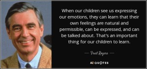 mr rogers and feelings