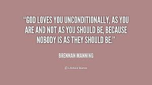 nobody is as they should be brennan manning