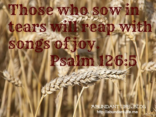 Sowing in Tears, Reaping in Joy