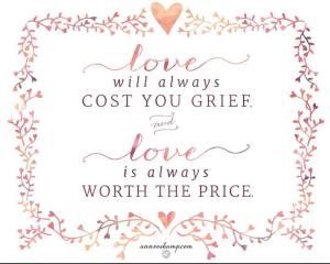 ann voskamp love will always cost you grief