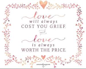 ann voskamp love will always cost you grief