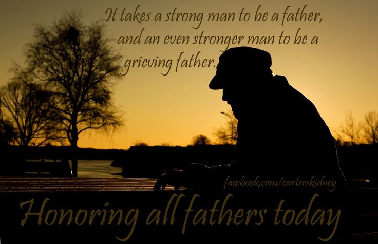 Father's Day for Bereaved Fathers-They Hurt Too