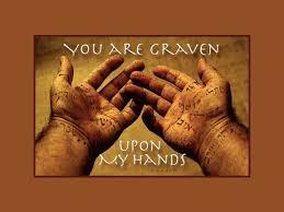graven on hand