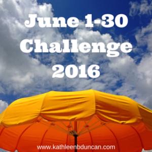 June Challenge From KathleenDuncan