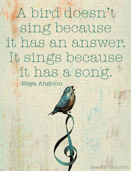 sings with song