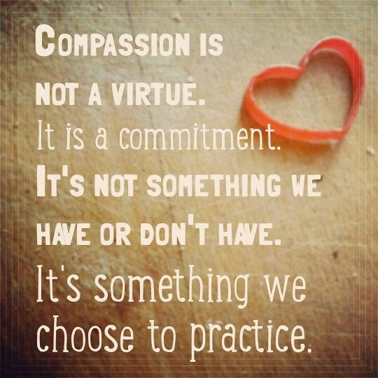 compassion is a choice