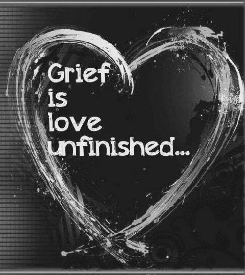grief is love unfinished