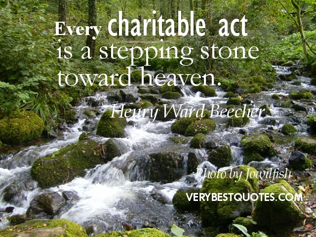 stepping stone toward heaven