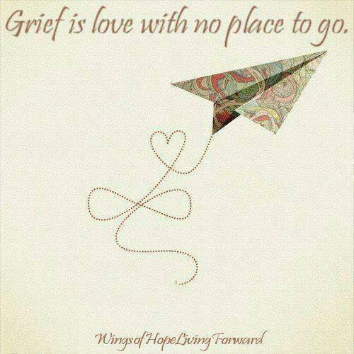Love is not a place to come and go