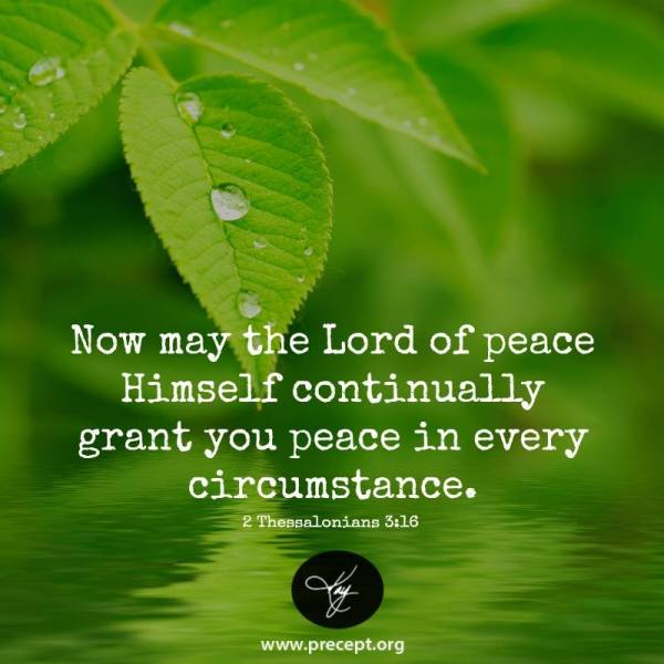 i thessalonians 3 peace