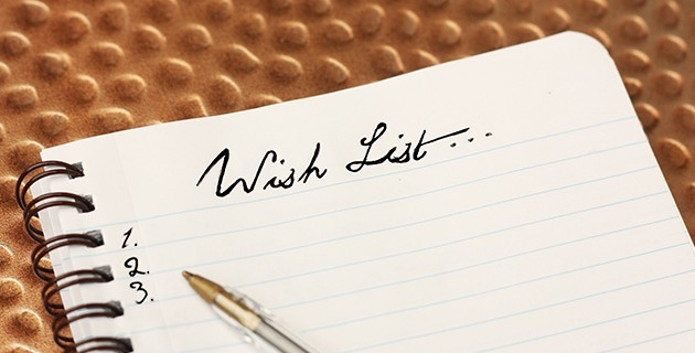 Bereaved Parents Month Post:  Bereaved Parent's Wish List