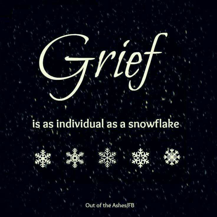 Grief Is A Tangled Ball Of Emotions