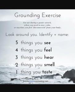 grounding-exercise