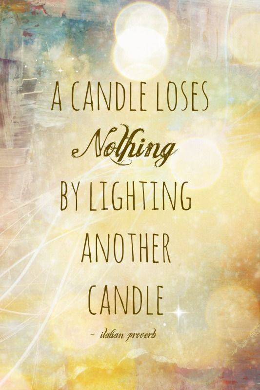 I Want To Be A Light Bearer, Not a Candle Snuffer
