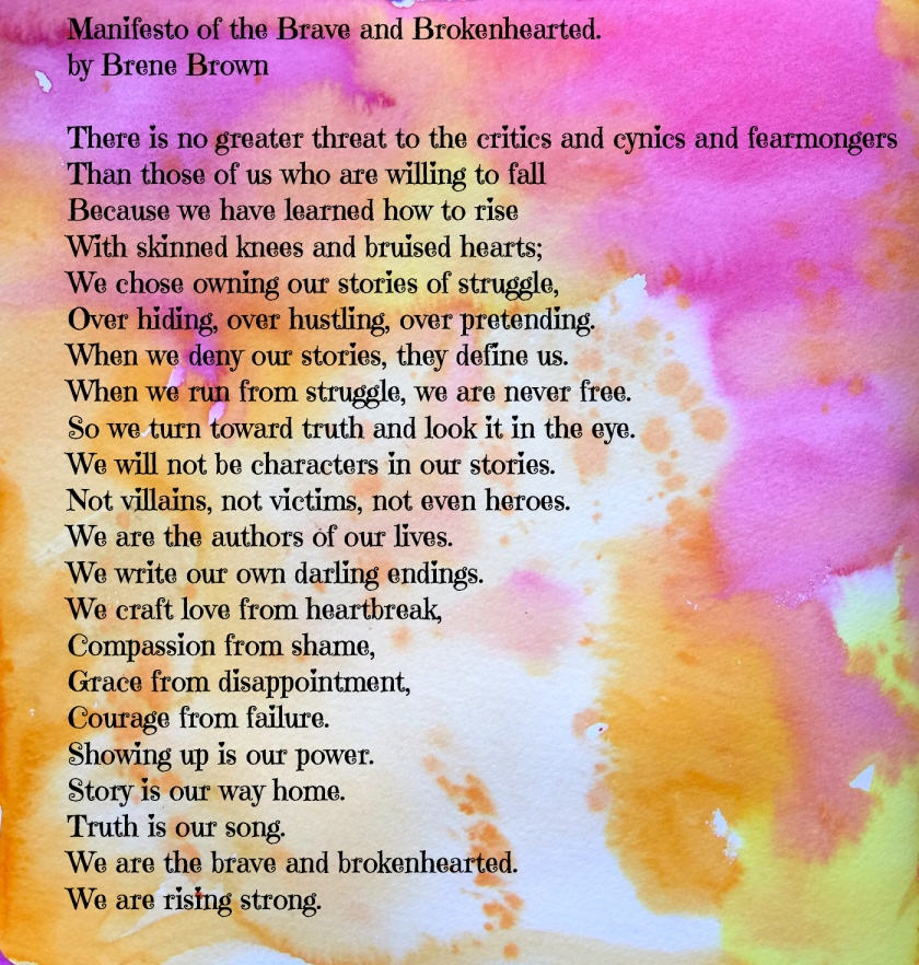 manifesto of the brave and brokenhearted
