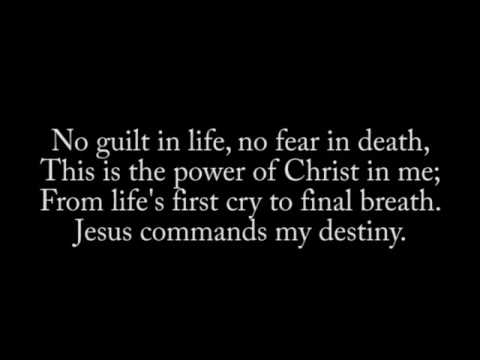 jesus commands my destiny
