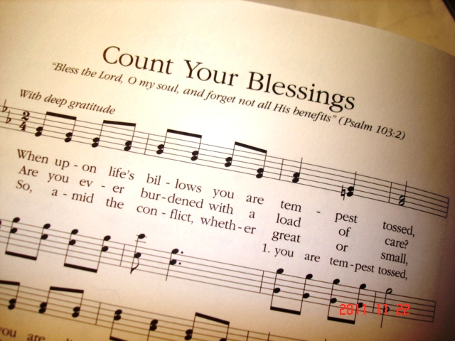 Count Your Blessings?