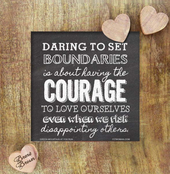 daring to set boundaries brene brown