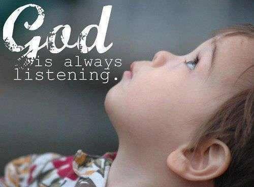 god is always listening