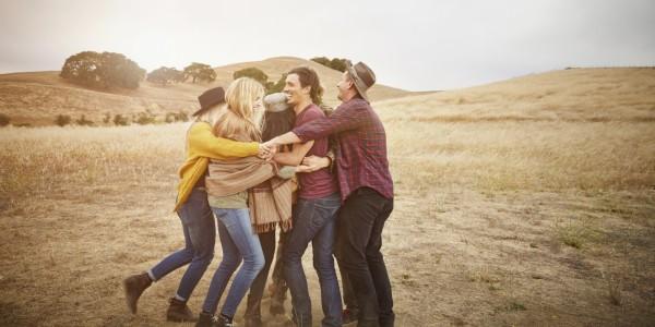 group hug huffington post