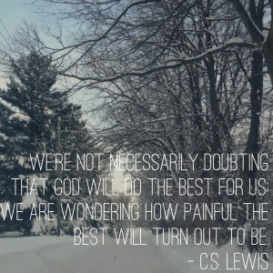 not doubting wondering how painful the best will be