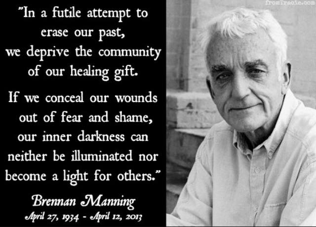 brennan manning share our wounds