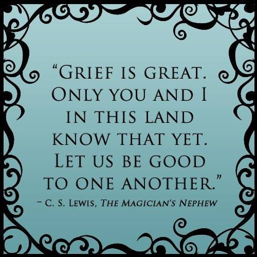 grief is great