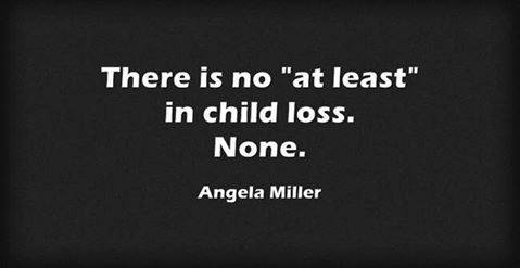 there is no at least in child loss