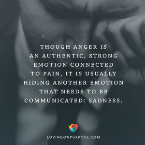 anger authentic