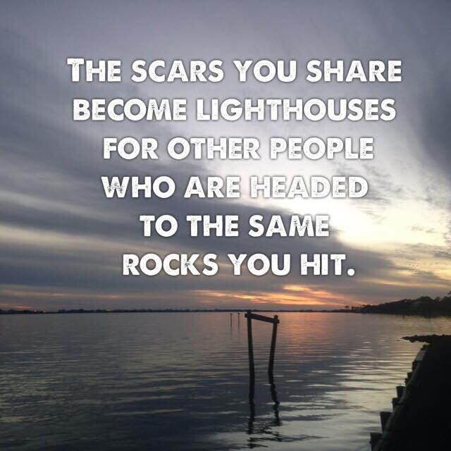 the scars you share become lighthouses
