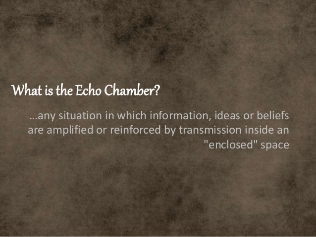 what is an echo chamber