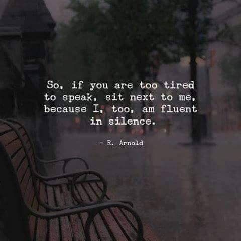 fluent in silence