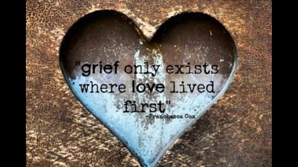 Grief IS Love in Action