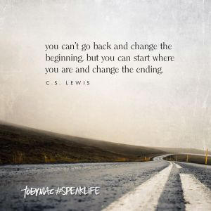 cant change the beginning but can change the ending