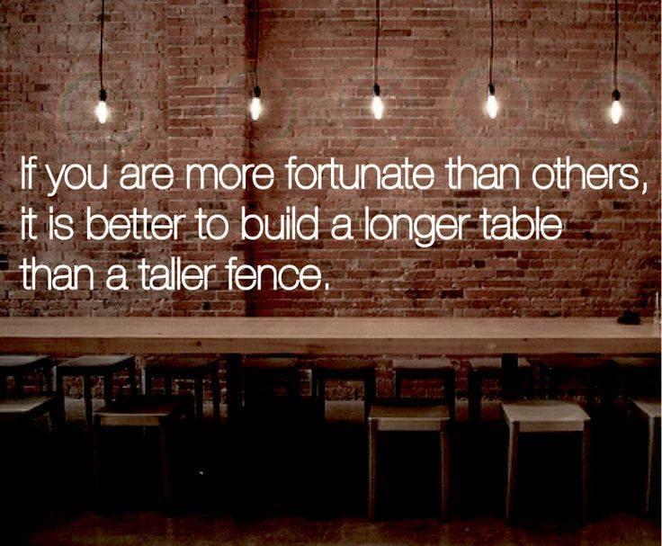 longer table
