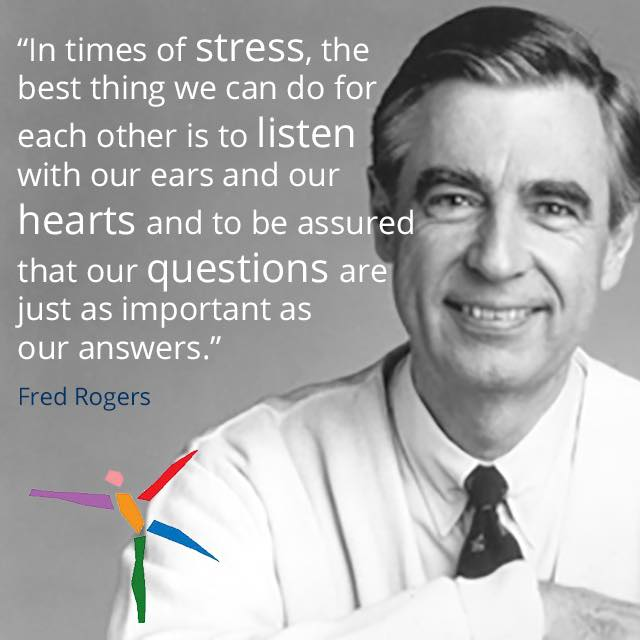 questions just as important as answers mr rogers
