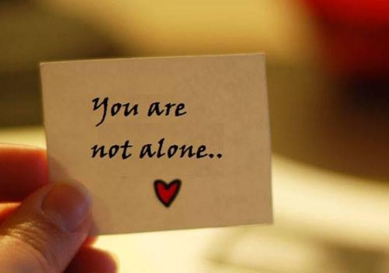 Hasil gambar untuk you are not alone