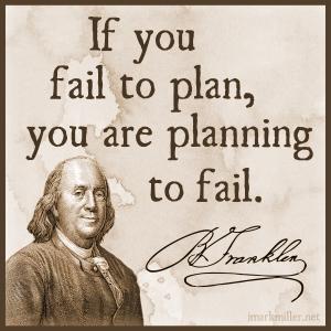 fail to plan plan to fail
