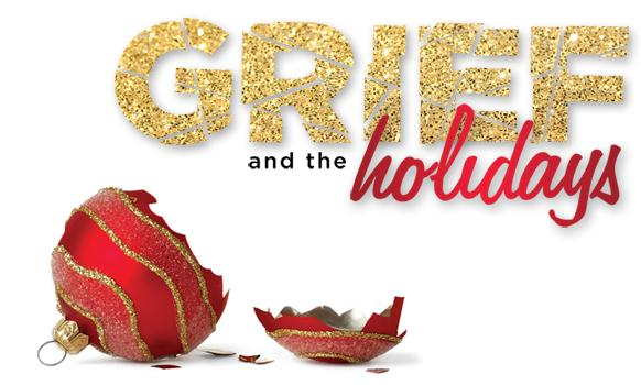 grief and the holidays broken bulb