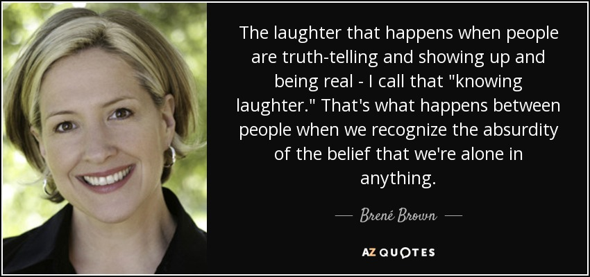 laughter and truth telling