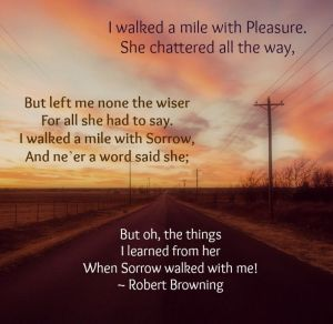 walked a mile robert browning