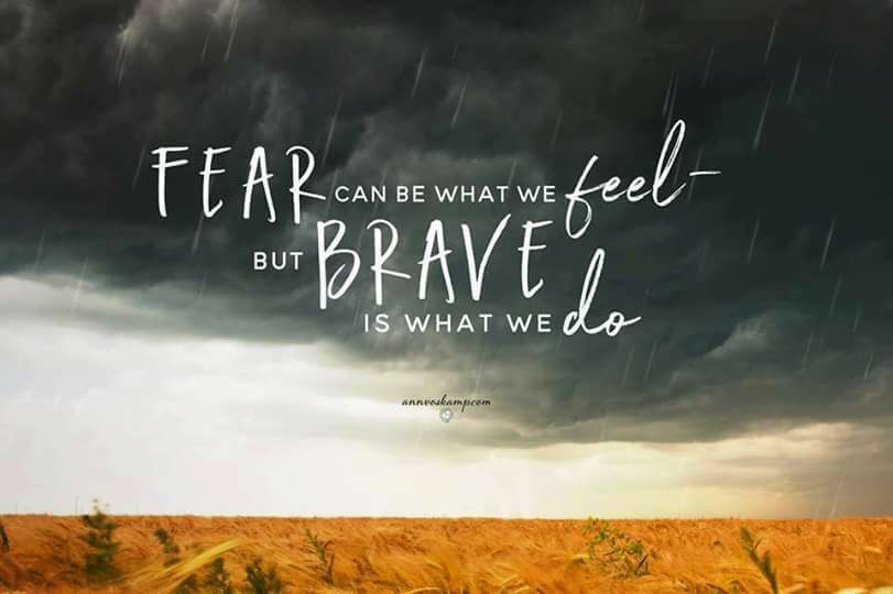 Scared and Brave: Reaching For Jesus in the Midst of Sorrow