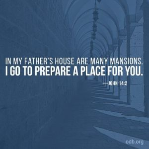 in my fathers house are many mansions